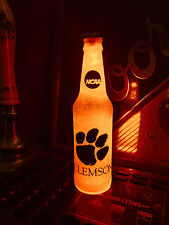NCAA Clemson Tigers Football 12 oz Beer Bottle Light LED March Madness