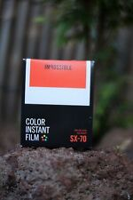 *NEW* Impossible Project COLOR FILM FOR SX-70