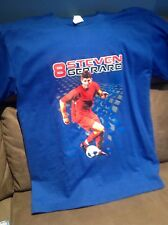 steven gerrard size xl t shirt liverpool photo rare new bnwt fc football