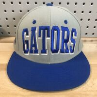 Florida Gators NCAA SEC College TOW Top Of The World Snap Back Cap Grey Hat