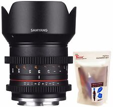 Samyang 21mm T1.5 Cine ED AS UMC CS APSC Wide Angle Lens for Sony E ILCE