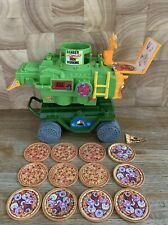 TMNT Vintage Pizza Thrower Vehicle Near Complete Working Playmates 1989