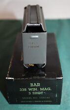 MK I BROWNING BAR MARK I  338 WIN. MAG. 3 rd FACTORY MAGAZINE NEW MAG