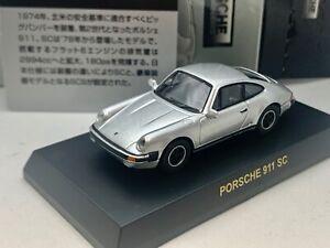 Porsche 911 SC silver Kyosho 1/64 scale Die-cast  part.2