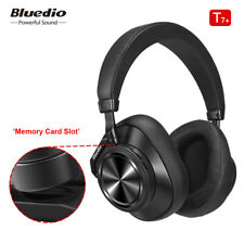 Bluedio T7 Plus Wireless Headphone Active Noise Cancelling with Memory Card Slot