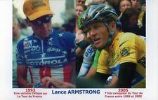 PHOTO 1ERE VICTOIRE CHAMPION USA ET MAILLOT JAUNE LANCE ARMSTRONG TOUR DE FRANCE
