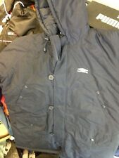 UMBRO JACKETS PARKA JACKET IN  36/38 INCH AT £24 QILTED IN NAVY