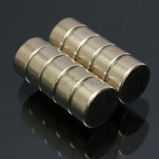 5Pcs 10 x 5mm Strong Round Cylinder Rare Earth Neodymium Magnets Magnet N52