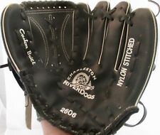 Charleston Riverdogs Custom Built Black Leather Baseball Glove Promo New