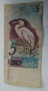 Brasil Brazil 5 Reais 1997 - 2012