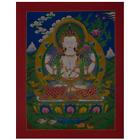 Chenrezig-Chengrechi-Changrasi - handmade thangka painting from Nepal