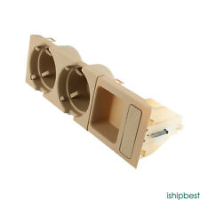 For BMW 3 series E46 Cup Drink Holder Coin Holder Tray Center Console Beige NEW
