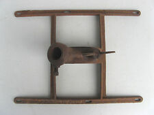 1890s CAST IRON FLAG BRACKET/HOLDER -ADJUSTABLE to HALF MAST- ANTIQUE
