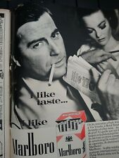 Publicité Vintage Advertising 1964 - Cigarettes Marlboro 1964