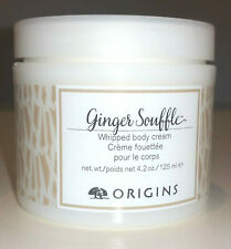 ORIGINS Ginger SOUFFLE Whipped Body Cream Lotion Soothe Dry Skin 4.2oz 125ml NEW