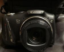 Canon PowerShot HD 150 IS 14.1MP Digital Camera - Black W/ Case~~Bundle~32G SD~~