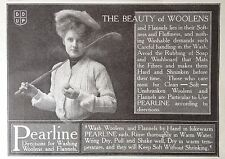 1907 AD(G3)~PEARLINE SOAP FOR ALL YOUR WOOLENS