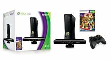 Xbox 360 4GB Console With Kinect & Game - Complete