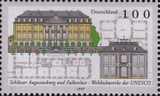 WEST GERMANY MNH STAMP SET DEUTSCHE BUNDESPOST AUGUSTUSBURG UNESCO 1997 SG 2765
