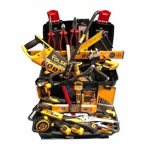 """Home Maintenance Tool Kit set complete with 17"""" Tool Box - 80pc"""