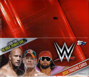 2016 Topps WWE Wrestling Trading Cards SEALED 24-Pack RETAIL BOX