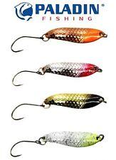 4 Paladin Trout Spoon 3,8cm 4,3g - Forellenblinker, Blinker für Forellen, Spoons