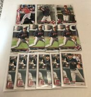 (x55 Lot) Yu Chang (1st Bowman) (RC) Cleveland Indians 2020 Topps #590 Rookie