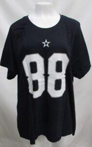 Dez Bryant Dallas Cowboys Women's Plus Size Name & Number T-Shirt Navy