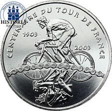 Quarter Euro France 1/4 Euro Argent pièce de monnaie 2003 tdf tour de France Coincard