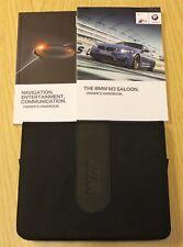 GENUINE BMW M3 (F80) HANDBOOK NAVI AUDIO OWNERS MANUAL WALLET 2014-2017 PACK