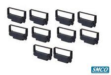 More details for 10 for epson erc 30 34 38 black ink ribbon cassette dot matrix printer by smco