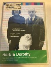 Herb & Dorothy DVD RARE OOP Arthouse Films 001 Megumi Sasaki NEW and SEALED