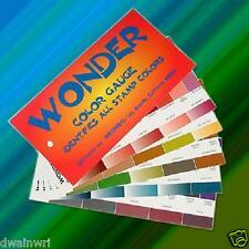 Wonder Color Gauge - 140 philatelic colors easily identified!  List $11.50