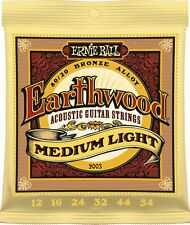 Ernie Ball 2003 Earthwood 80/20 Bronze Acoustic Guitar Strings 12 - 54