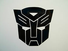 2 x Transformers Autobot Car Side Mirror Wing Mirror Vinyl Decal Stickers Van