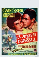 Gary Cooper : L odysse du Dr Wassell : Repro Poster