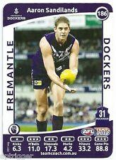 2012 Teamcoach (186) Aaron SANDILANDS Fremantle