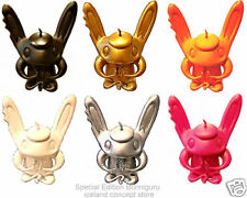 BUNNIGURU ALL 6 MINI SOLID COLOR SCARYGIRL SCARY GIRL  nathan jurevicius