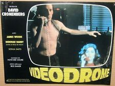 JAMES WOODS LOBBY CARD VIDEODROME DAVID CRONENBERG