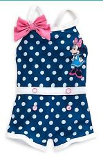 Disney Minnie Mouse, Infant Girl 1 piece Swimsuit, Size 3-6 Months UPF+50, NWT