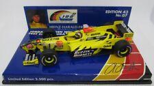 F1 1/43 JORDAN 198 HONDA FRENTZEN TEST CAR SUZUKA 1998 MINICHAMPS