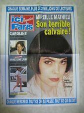 AFFICHE PROMO ICI PARIS MIREILLE MATHIEU CAROLINE