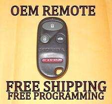 OEM 98 99 00 01 02 HONDA ACCORD EX SE KEYLESS REMOTE FOB TRANSMITTER KOBUTAH2T