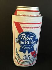 Pabst Blue Ribbon PBR Beer Koozie 16 oz Tall Can Cooler Coozie ~ (1) ~ NEW & F/S
