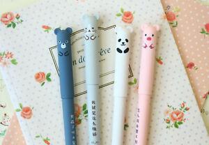 Cute Cartoon Animal Pens kawaii ballpen biro school planner diary journal pen