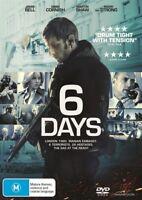 6 Days (DVD, 2018) NEW