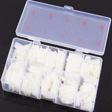 One Box 500Pcs Clear Solid Natural French False Acrylic Nail Art Tips UV Gel DIY
