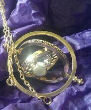 Harry Potter Time turner pendant Hermione Granger gold plated