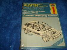AUSTIN MAESTRO manuale, copre MG standard e modelli VANDEN PLAS, 1275cc, 1598cc