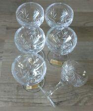 Nachtmann Likörglas Likörgläser 6 Stck Kristall Bleikristall 24% Schleuderstern